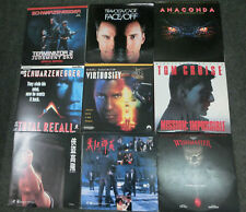 16 Stück Lasderdisc Filme - NTSC / US - Terminator - Bravehart - Con Air usw.