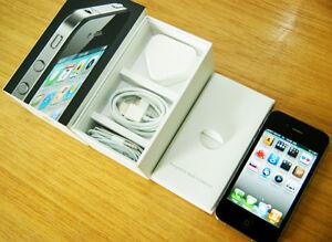 APPLE iPHONE 4 16GB WHITE / BLACK - UNLOCKED box pack