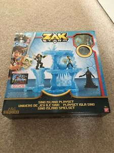 Zak Storm Sino Island Playset Includes Coin Ban Dai Brand New