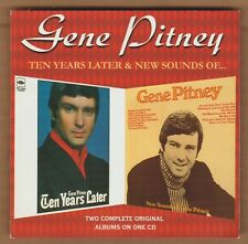 """GENE PITNEY cd """"Ten Years Later/New Sounds Of"""" 1998 Sequel 26 Tracks UK Import"""
