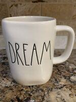 Rae Dunn DREAM Coffee Tea Mug Cup Ivory LL Black Script By Magenta Farmhouse