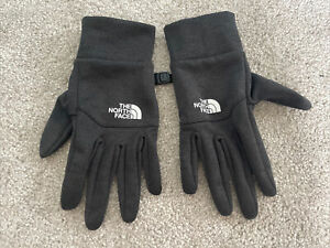 The North Face Grey Gloves Unisex Size Small