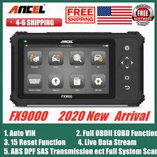 FX9000 OBD2 Scanner Full System Car Diagnostic Scanpad Scanner Tool 2020 New