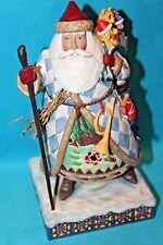 Jim Shore Bringing Christmas Joy Santa Claus w/ Bag of Toys