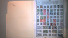 INDIA COLLECTION ON ALBUM PAGES, MINT/USED