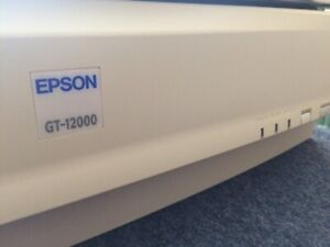 Epson GT 12000 A3 Scanner 800 x 1600 Excellent for Fine Artwork