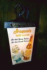 Clocks 1950-1960 Vintage Iroquois Beer Clock Traveling