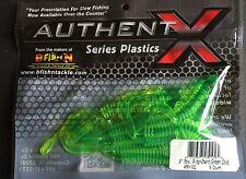 "B Fish N, Authent X, 4"" Moxie Ring, 8/pk, #4MR-102, Chart/Green Core"