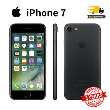 New Apple iPhone 7 32GB Black Factory Unlocked Smartphone 1Yr Wty in Sealed Box