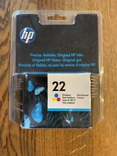 HP 22 Tri-Colour Printer Ink Cartridge, C9352AE, Inkjet Print, Exp. 2011, Sealed