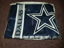 NEW! DALLAS COWBOYS PILLOW SHAM! STANDARD SIZE~SIDELINES BRAND
