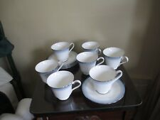 LOT ROYAL DOULTON - LORRAINE - COFFEE CUP AND SAUCER SETS