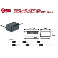 BA60050 CHARGEUR Ni-Cd - Ni-Mh 4,8-12V - 13/30/80/160/240/400mA 4/10 cel