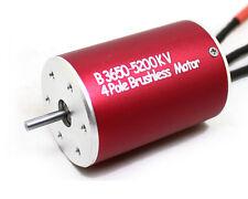 F540 3650 5200KV 4Poles Sensorless Brushless Motor for 1/10 Drift Buggy RC Car