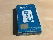 Boxed & Working Vintage Casio HS-30W Digital Stopwatch