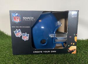 NFL Snack Helmet Blue - NFL Super Bowl 2021 USA import RARE