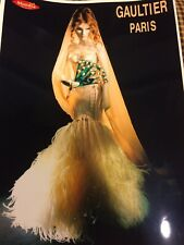 "Jean Paul Gaultier Doll for Mundia 34"" L.E.  Wedding Gown 1999"