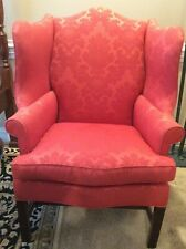 Wingback chair by Hickory