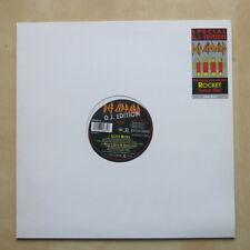 "DEF LEPPARD Love Bites UK D.J. edition 12""  single in stickered die-cut sleeve"