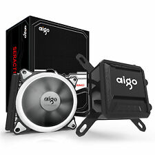Aigo CPU Liquid Cooler Kit 120mm Fans Water Cooling Radiator System