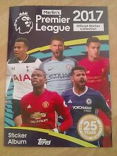 Merlin Premier League 2017 - Mint Empty Album & Complete Loose Set Of Stickers