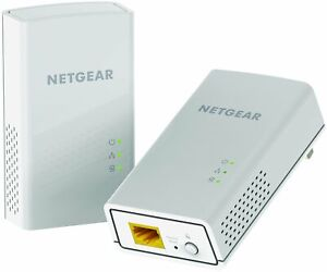 Netgear Powerline 1200, 1 Port - 2 - 1 X Network [rj-45] - 1200 Mbps Powerline -