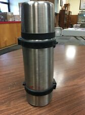 Vacuum Insulated Thermos Stainless Steel Canteen Camping Bottle Flask 1L Act7