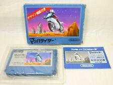 MACH RIDER Item Ref/bcb Famicom Nintendo Japan Boxed Game fc