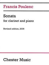 Francis Poulenc: Sonata for Clarinet and Piano (2006 Edit... CH70972