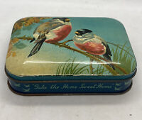 BLUE BIRD TOFFEE Bullfinches Victorian Style HARRY VINCENT LTD Tin ENGLAND Great