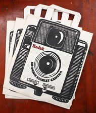KODAK PATHE SHOPPING BAGS WITH BROWNIE STARLET CAMERA IN FRENCH/cks/211035
