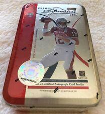2004 Playoff Prime Signatures Tom Brady Tin All Star Pro Bowl Uniform RARE