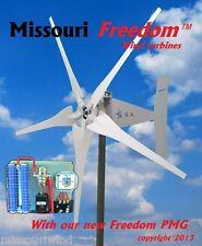 Wind turbine generator kit Missouri Freedom 12 volt 1700 watt 5 blade turbine