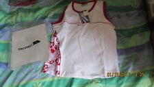 TRESPASS SURF GEAR, sporty vest top, size large, 95% cotton, 5% elastane, new
