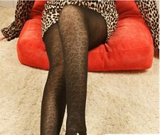 74# Leoparden Muster Nylon Strumpfhose Strümpfe Stocking Club & Dance Wear
