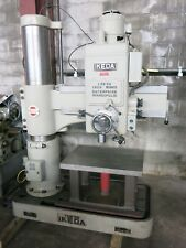 """Ikeda Radial Drill 10"""" Column 36"""" Arm with Custom Drill Table"""