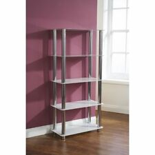 White Shelving Bookshelves