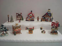 Christmas Village Display Platform C23 For Lemax Dept 56 Dickens + More