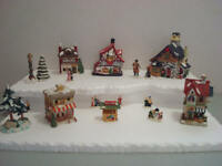 Christmas Village Display Platform C23 For Lemax Dept 56 Dickens + More