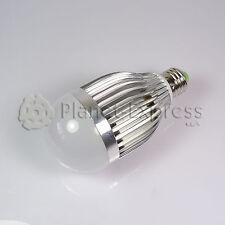 Bombilla 9W LED esferica E27 Blanco Neutro 220V 720 lumen Bajo Consumo equiv.80W