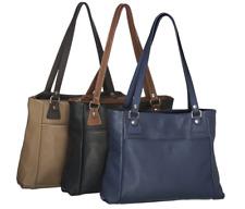 NEW MILLENI LEATHER HANDBAG BLACK SHOULDER WOMEN BAG SCHOOL TRAVEL FASHION BAGS