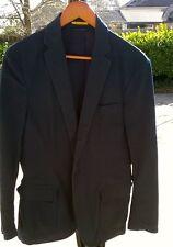 Ralph Lauren Rugby Unstructured Cotton Chino Navy Blazer Sportcoat Slim Medium