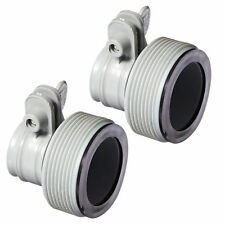b6659403e9f Intex Replacement Hose Adapter B w  Collar for Filter Pump Conversion (Pair)