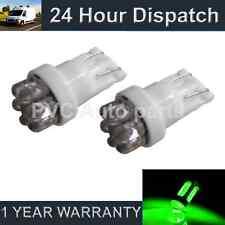 2 x W5W T10 501 Xenon grün 7 DOME LED Standlicht Standlichtbirnen HID sl100406