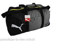 PUMA Sporttasche Tasche Reisetasche Fitnesstasche grau-schwarz NEU