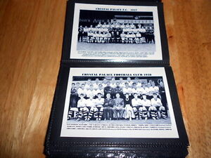 CRYSTAL PALACE F.C.PHOTO ALBUM (1950's/1960's ++ More)