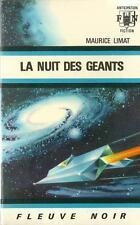 FLEUVE NOIR - ANTICIPATION N° 334 : LA NUIT DES GEANTS - MAURICE LIMAT - TTBE !