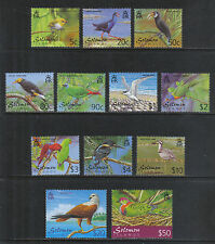 Solomon Is 2001 Local Birds definitives--Attractive Topical (903-13A) MNH
