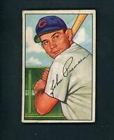 1952 Bowman HIGH # 247 John Pramesa EX cond Cubs