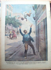 194) 1933 INCIDENTE A LA SPEZIA E INCENDIO IN MAROCCO DOMENICA DEL CORRIERE